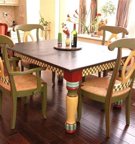 Dining Table Painting Ideas 17 Best Images About Classroom Furniture Painting Ideas On Porch Table Bunk Bed And