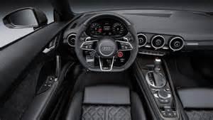 Audi Tt Interior 2017 Audi Tt Rs Redesign Release And Changes Future Car