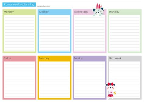 Printable Weekly Planner A4 | search results for 2015 monthly planner printable a4