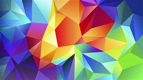 colorful pictures polygonal colorful wallpapers