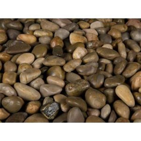 ms international 40 lb small mixed polished pebbles bag