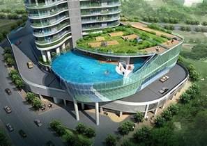 inspiring architecture hotel balcony swimming pools 12