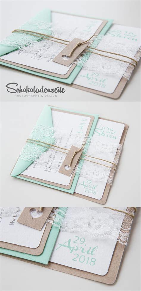 Einladungskarten Hochzeit Mint by Einladungskarten Hochzeit Ideen Ourpath Co