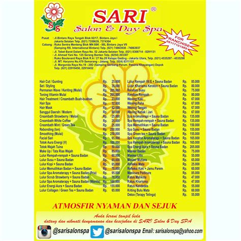 Harga Sariayu Spa sariayu selamat datang di website images tagged with marthatilaarspaexpress on instagram