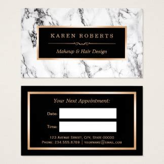 salon appointment card template appointment business cards templates zazzle