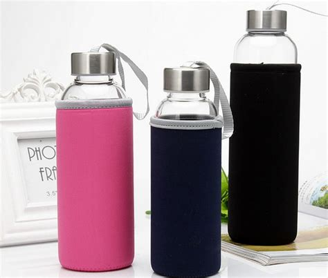 My Bottle Pouch Botol Tas Ifuse Bottle 20 27day delivery 1pc powerlife high quality gift bag with my glass water bottle