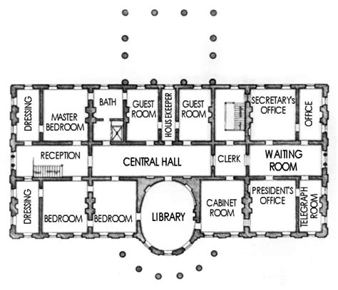 white house plan floor plan of the white house numberedtype
