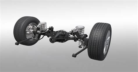 Front Double Wishbone Suspension