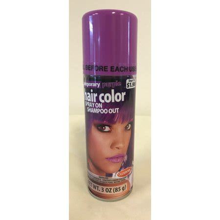 purple temporary hair color goodmark temporary hair color spray purple