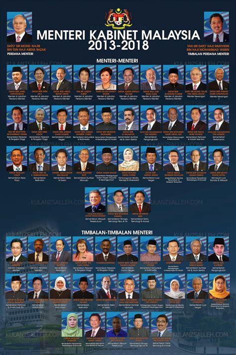 pengajian malaysia kabinet  kementerian