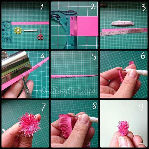 quilling tutorial on pinterest fringed flowers tutorial by quilling owl quilling