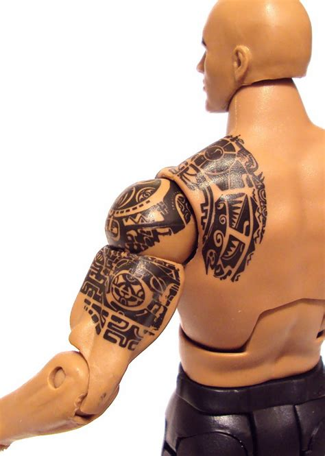 rock wwe tattoos pictures to pin on pinterest tattooskid