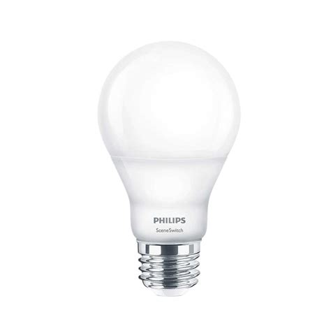 philips a19 led light bulb philips 60w equivalent daylight a19 led light bulb 455955