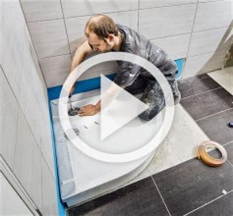 duschtasse einbauen dusche montieren mit hornbach