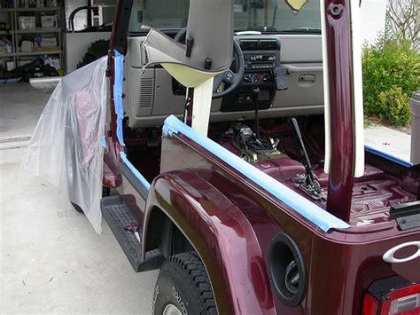 diy jeep wrangler herculiner mod without ink