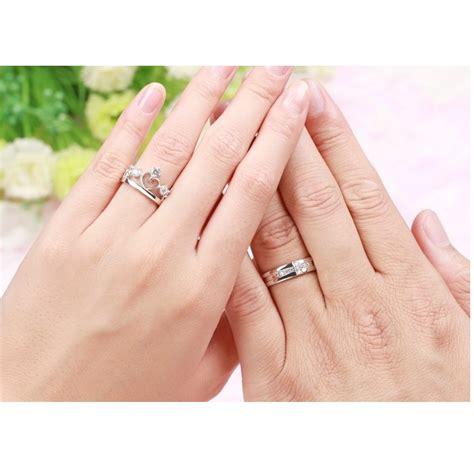 Cincin Tasbih Digital White rings silver crown prince and princess for cincin pasangan white