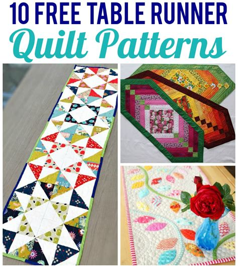 table runner quilt patterns 10 free table runner quilt patterns you ll