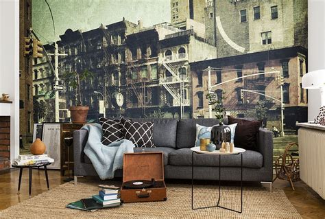 living room wall murals captivating wall murals that transform your home