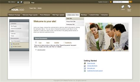 Sharepoint Themes Sharepoint Templates Sharepoint Master Pages Sharepointpackages Com Sharepoint Web Template