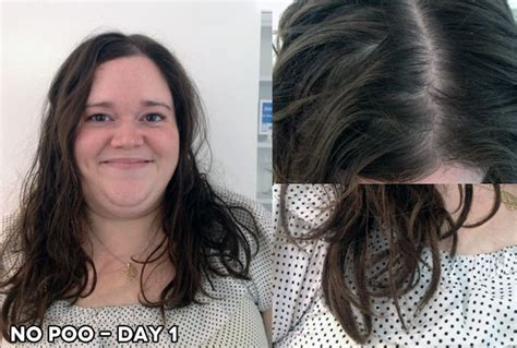 no poo shoo before and after pictures no poo hair before and after before after the pantry