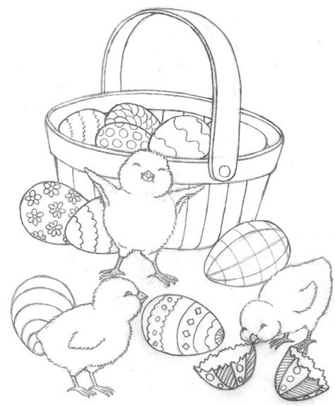 Easter Coloring Pages Preschool | free coloring pages preschool easter coloring pages