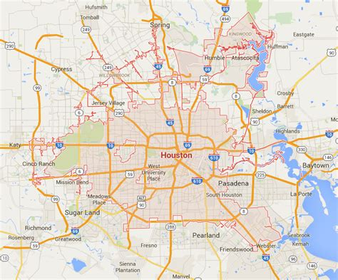 houston map compared to other cities map of houston and surrounding cities swimnova