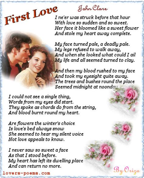 themes in first love by john clare love quotes for her free valentine s day cards 2012