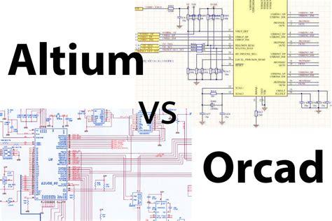 pcb layout software altium altium designer vs orcad pcb designer professional