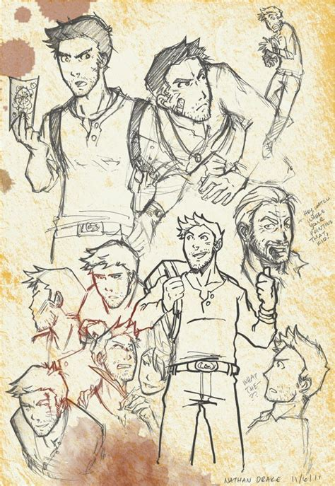 Uncharted 4 Sketches by Nathan S K E T C H E S Sketches