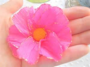 Flower Using Crepe Paper - crepe paper flowers