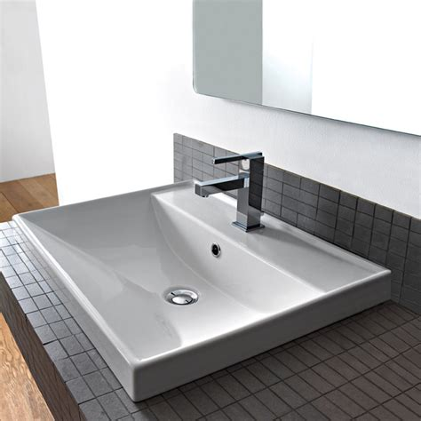 square drop in sink scarabeo 3001 bathroom sink ml nameek s