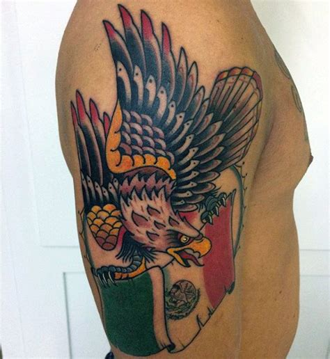 tattoo school new mexico 50 mexican eagle tattoo designs for men manly ink ideas