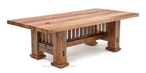 Mission Style Dining Table by Reclaimed Barnwood Dining Table Mission Style Dining