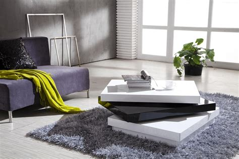 White Tables For Living Room Modern Living Room Coffee Tables Sets Roy Home Design