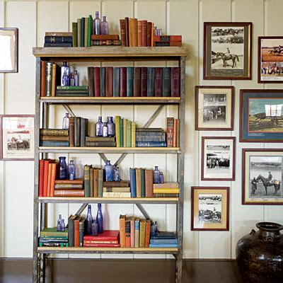 decorate bookshelf horse country chic steven gambrel works his magic in