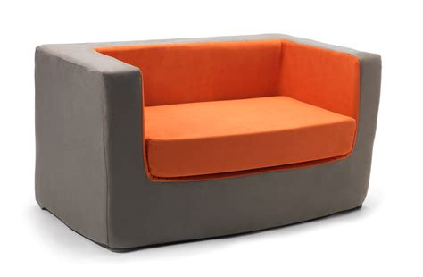 contemporary loveseat modern cubino kids chair loveseat