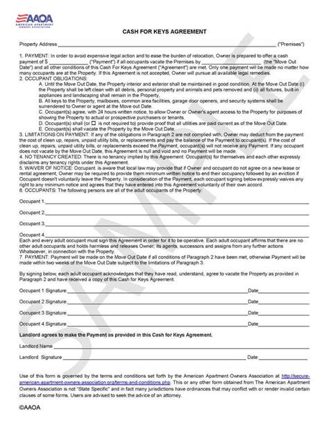 Apartment Owners Association Of Nevada Rental Agreement Forms Rental Agreement Form