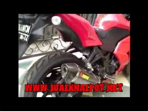 Knalpot Racing Kawasaki Karbu High Quality jual knalpot racing byson vixion scorpio cbr tiger megapro