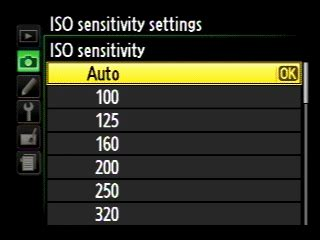 nikon d5100 settings nikon d5100 iso settings menu