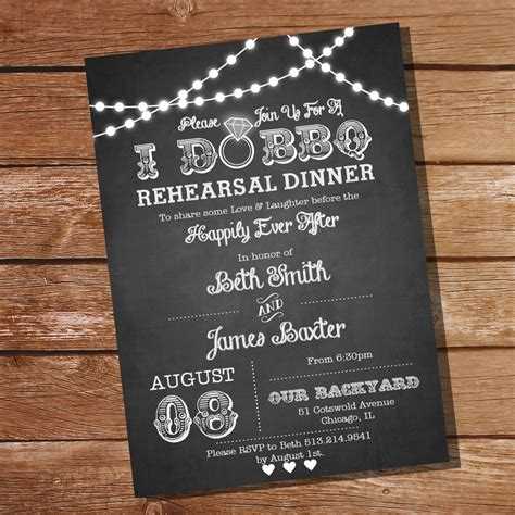 rehearsal dinner invitation template free i do bbq rehearsal dinner invitation instant and
