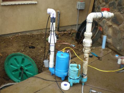 sewer pumps for basement ejector installation nj ejector repairs nj