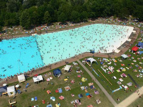 Swimming Pool Frankfurt by Open Air Bath Brentano Frankfurt Tourism