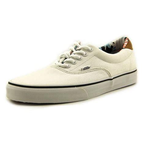 vans mens shoes vans vans era 59 canvas white skate shoe athletic