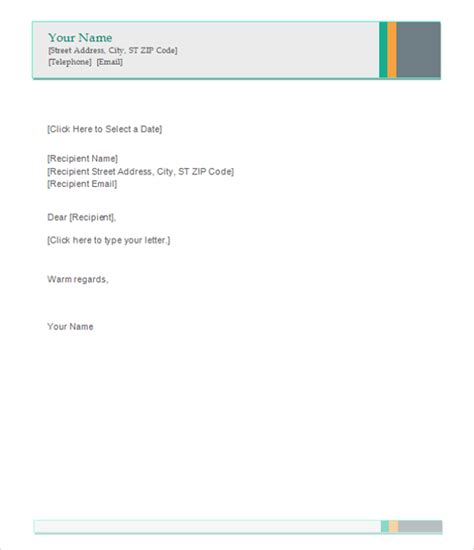 sle letterhead template 42 free documents in pdf