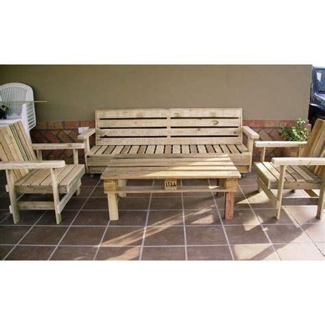 sillas con palets mesa sillas terraza tienda muebles con palets