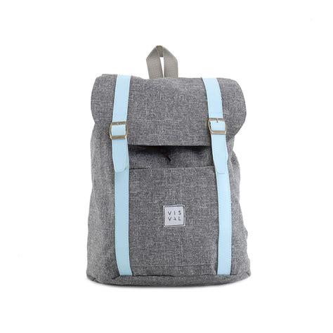 Visval Maison Tas Ransel Backpack Laptop Murah jual tas ransel casual kecil wanita lucu murah visval kiera grey islstores