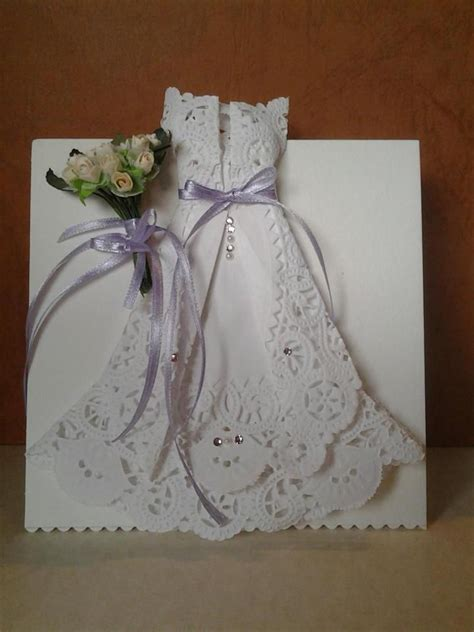 How To Make Origami Wedding Dress - 17 best images about paper crafts cards on
