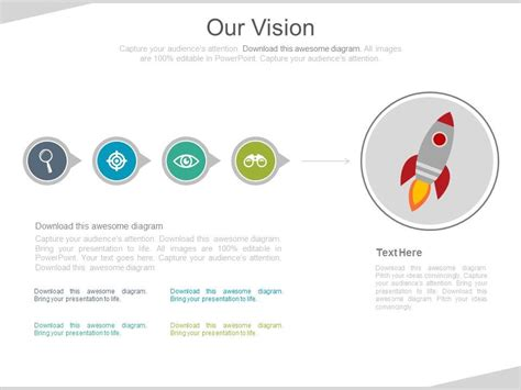 linear flow diagram with rocket and business icons for