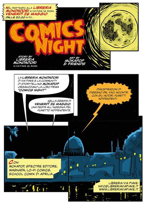 libreria via piave nonsoloarf il 26 maggio la comics night romana di