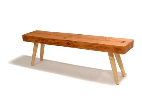 wood beam bench custom made reclaimed wood beam bench by rossmonster
